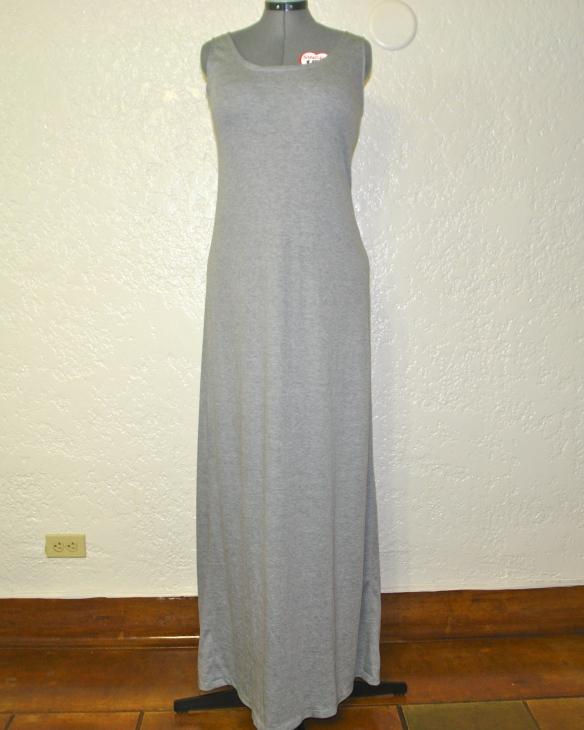 pretty tall style - diy maxi dress