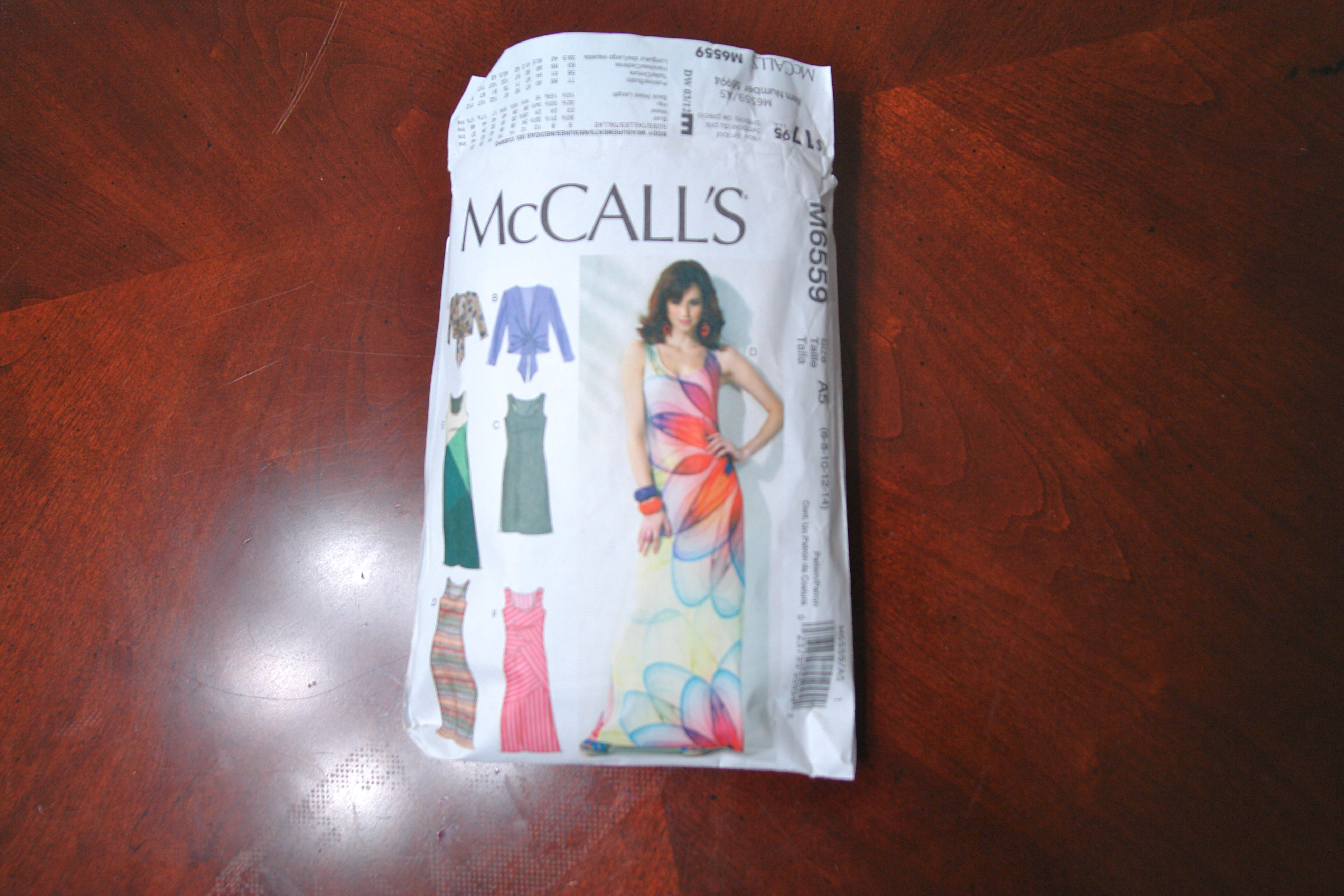 Pretty Tall Style - McCalls 6559 - DIY Maxi Dress